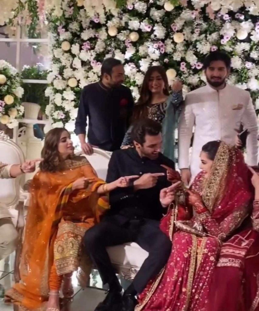 HD Nikkah Video of Minal Khan And Ahsan Mohsin Ikram