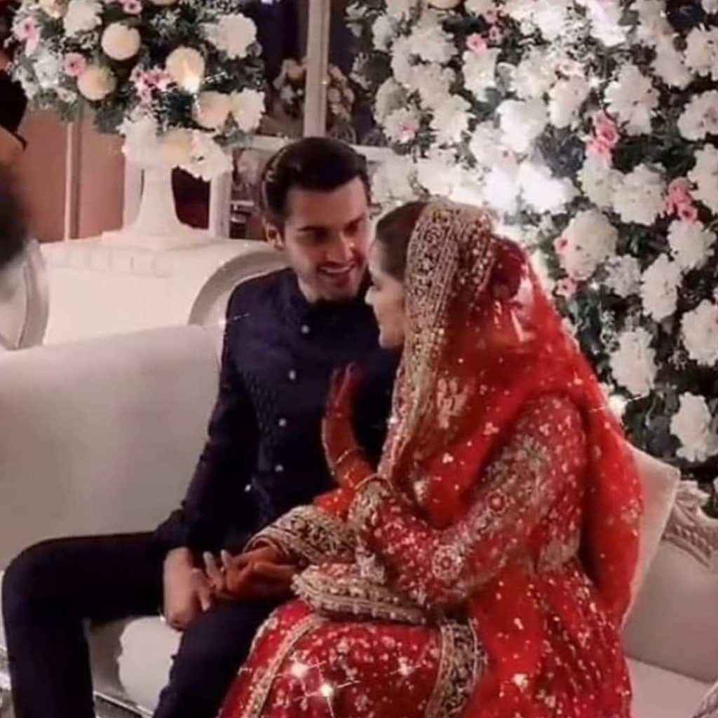 Minal Khan Wedding Pictures With Her Husband Ahsan Mohsin Ikram