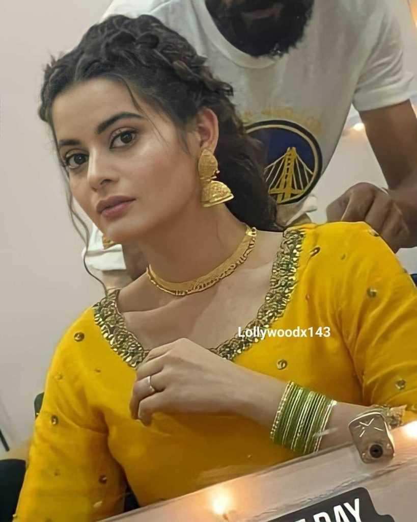Minal Khan Mayun Event Beautiful Clicks