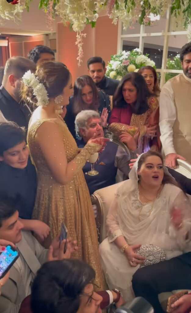 Aiman Khan won everyone's heart in Minal Khan's Doodh Pilai Rasam