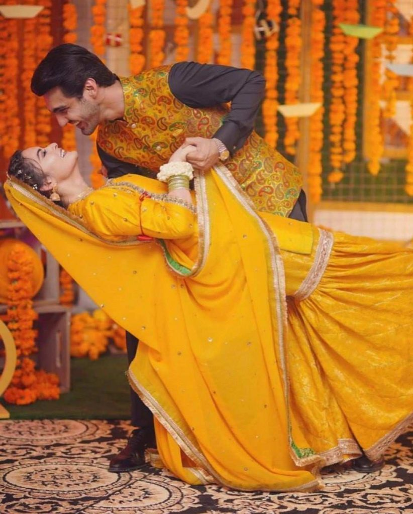 Minal Khan And Ahsan Mohsin Ikram Mayun Pictures And Videos