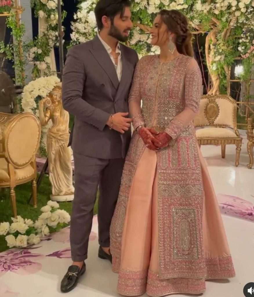 Minal Khan Walima -Exclusive Pictures