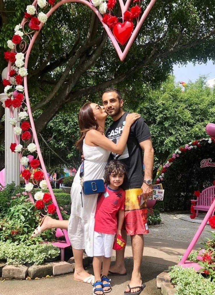 Momal Sheikh Enjoying Holidays With Husband Nadir in Turkey