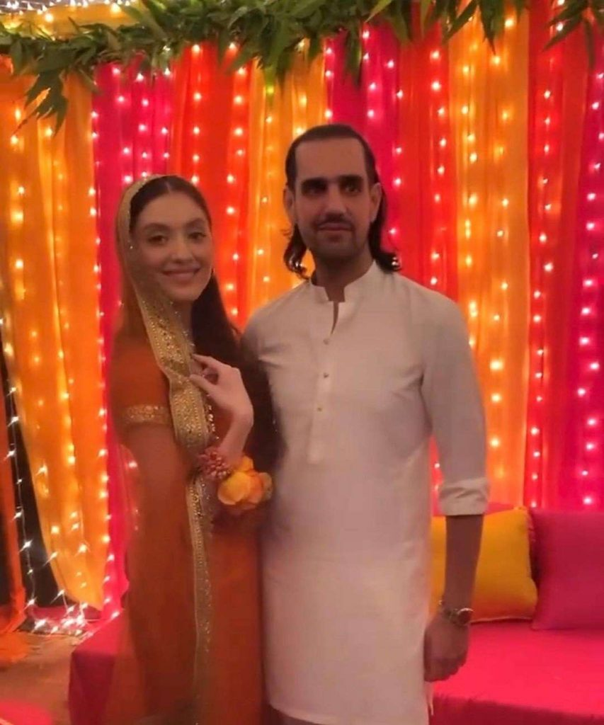 Neha Rajpoot And Shahbaz Taseer Mayun Pictures And Videos