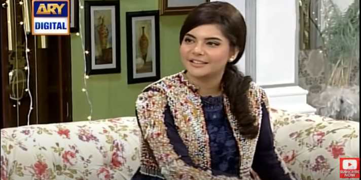 Watch: Nida Yasir talks to the engineer about the Formula One car