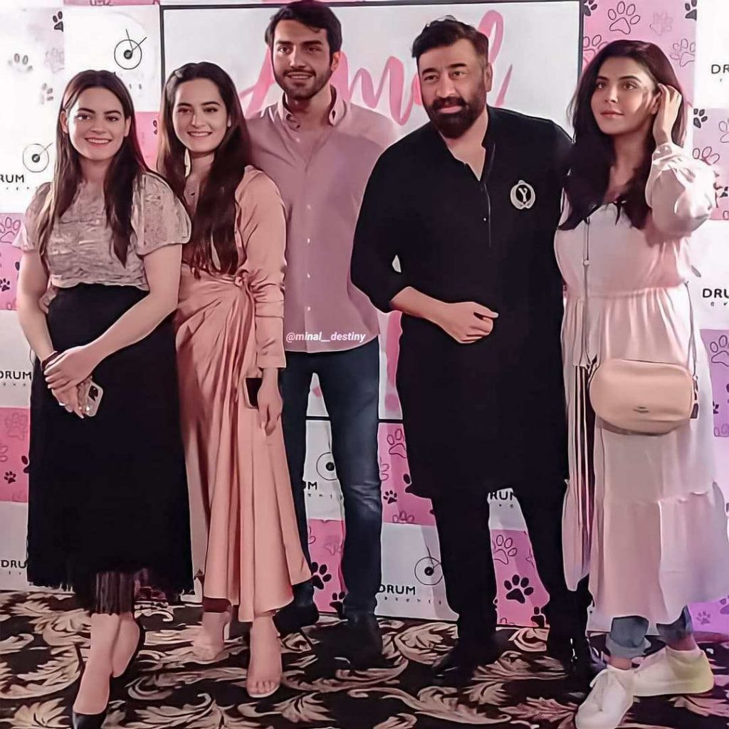 Nida Yasir Spotted At The Birthday Party of Her Friend