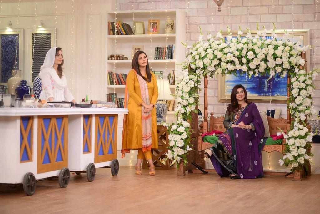 Samra Arsalan Thanks Nida Yasir  For Organizing Surprise Baby Shower