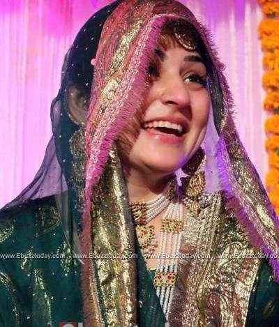 Sanam Baloch Wedding Pictures With Her Husband Abdullah Farhatullah