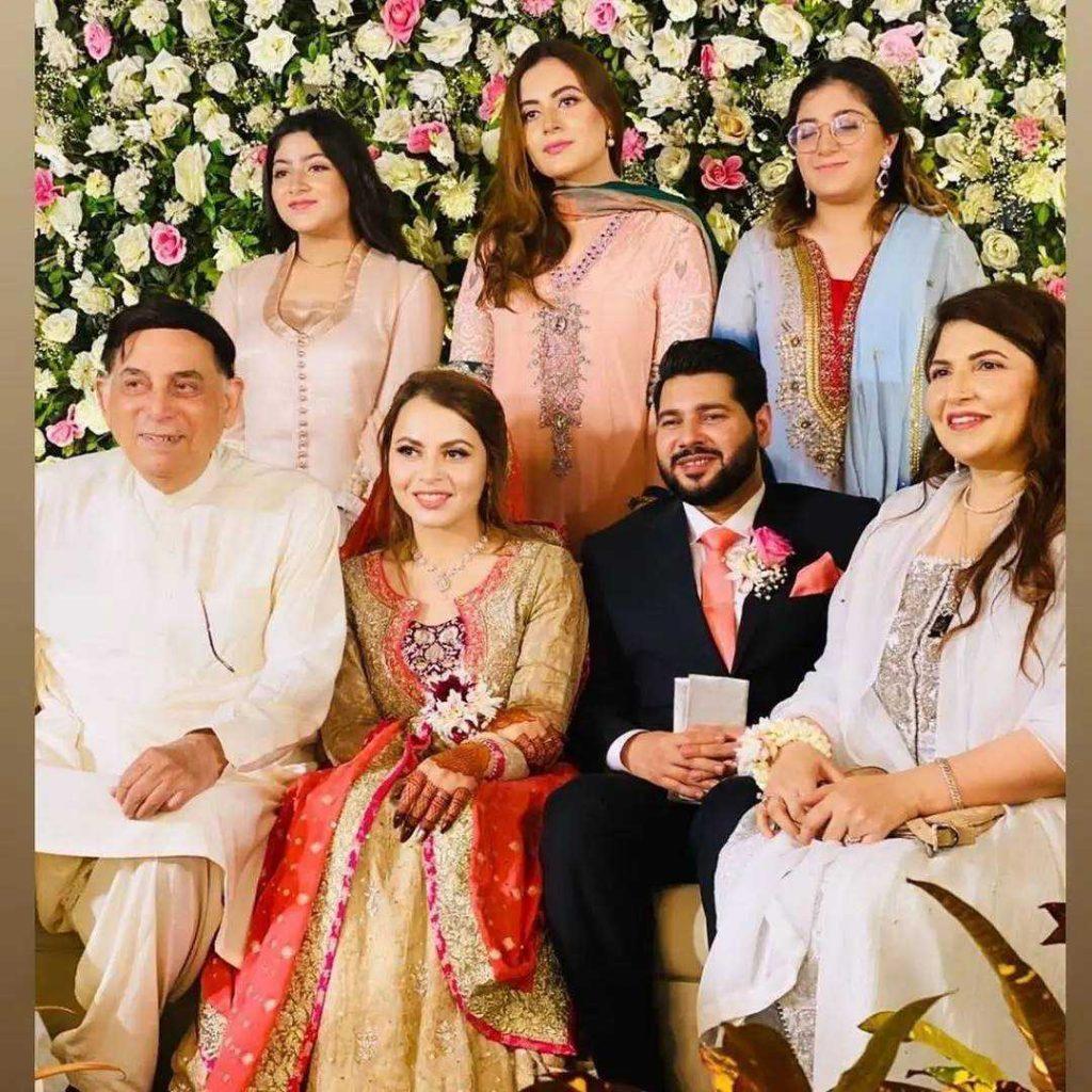 Beautiful Pictures of Shagufta Ejaz Daughter Haya Ali Engagement Ceremony