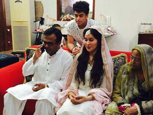 Shaista Lodhi With Her Husband – Unseen Pictures