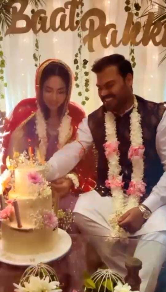 Actress Sukynah Khan And Bilal Siddiqui Engagement Pictures
