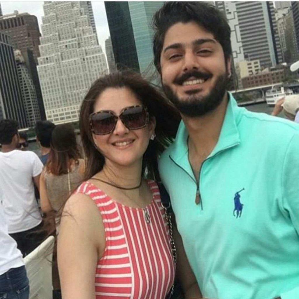Zaviyar Noman Mother Who Look Like Sisters Are Actually Mom And Son