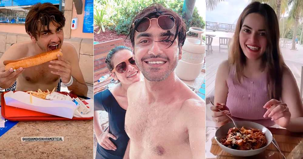 Ahsan on vacation for spending quality time with his wife
