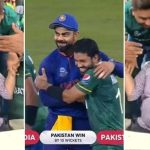 Babar Azam Father Crying Out Of Happiness After the winning shot