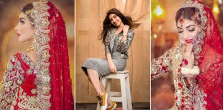Kinza Hashmi wins internet with her latest bridal look
