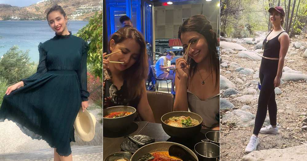 Latest Pictures of Komal Aziz Khan From Her Trip To USA