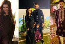Mohammad Amir, Narjis Khatun attend friend's wedding in Lahore