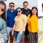 Saas, bahu aur vacation Mariam is chilling with husband, brother-in-law