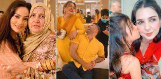 Sadia Imam Delightful Pictures From Eid E Zahra Celebrations
