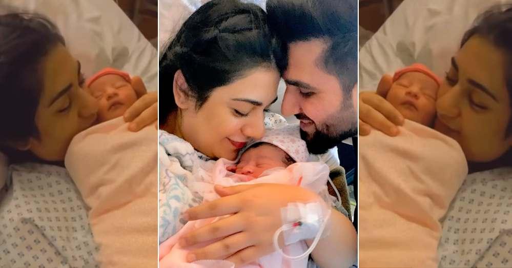 Sarah Khan Shares First Look of Her Cute Daughter Alyana