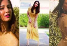 Ushna Shah Earns Criticism After Displaying Her Pictures from Calcium Awareness Program