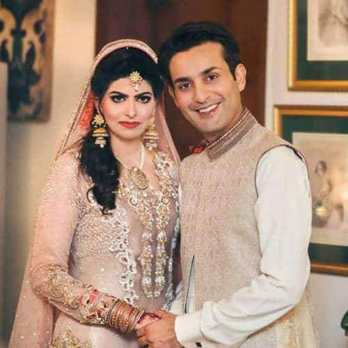 Affan Waheed Wedding Pictures With His Wife