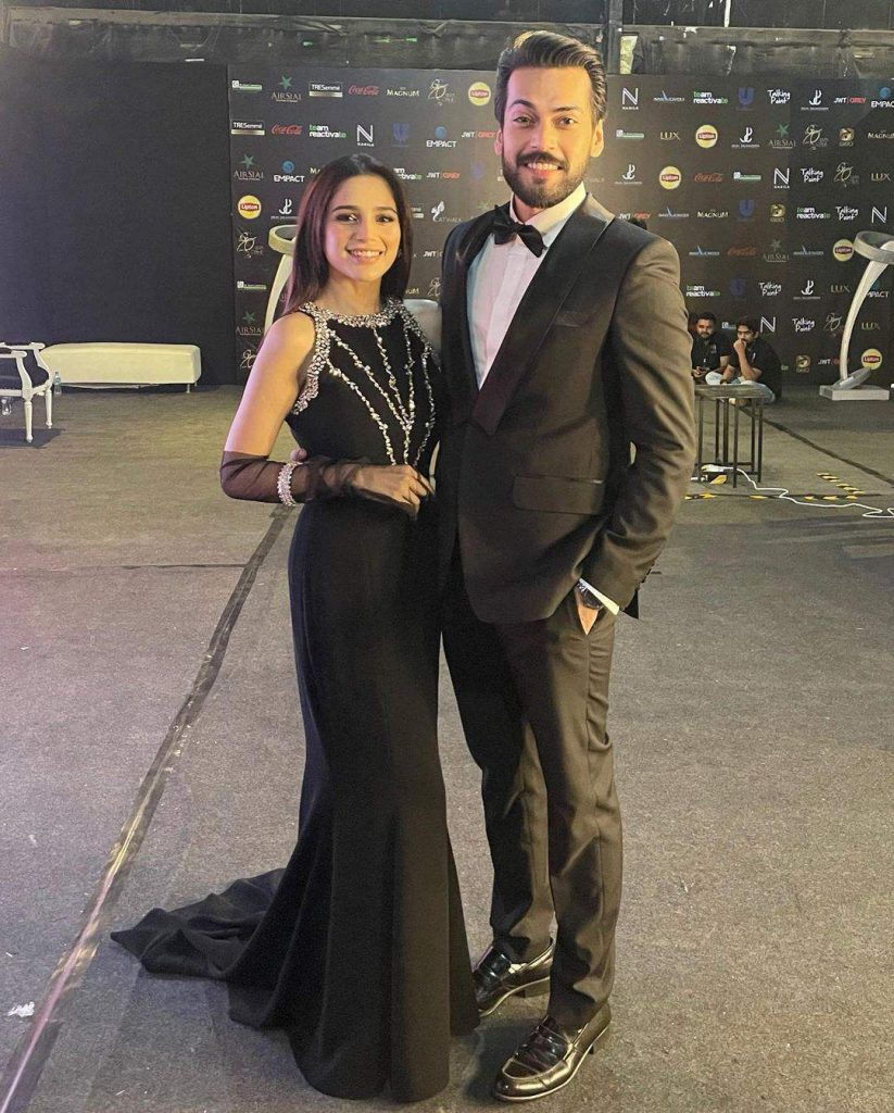 Aima Baig and Her Fiancé Were Too Cute at the Lux Style