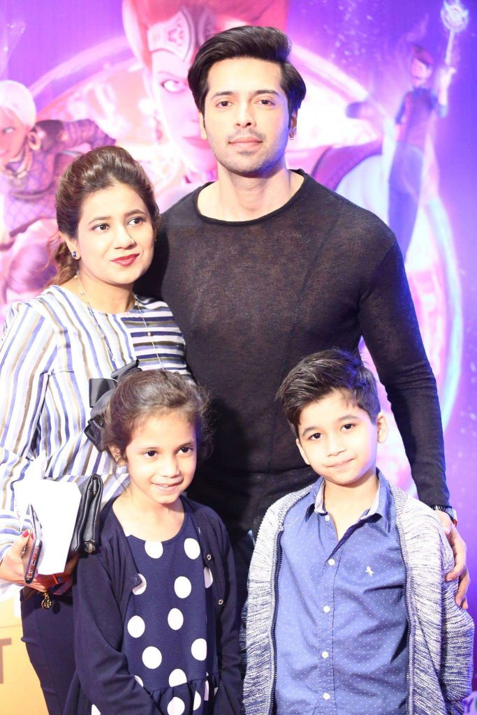 PHOTOS of Fahad Mustafa that prove he is a complete family man