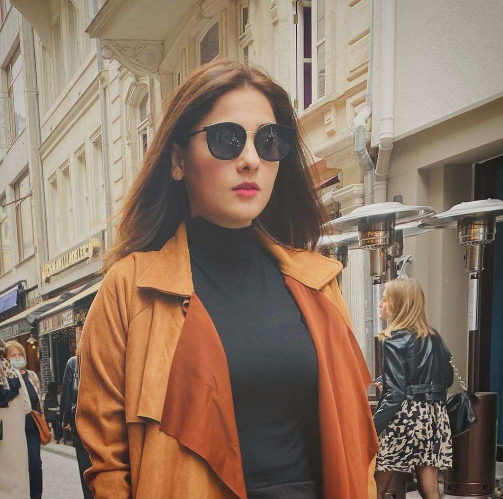 Hina Altaf And Agha Ali New Pictures on Their Honeymoon