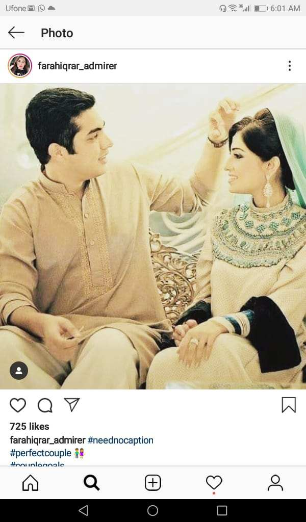 Iqrar Ul Hassan Wedding Pictures With His Wife