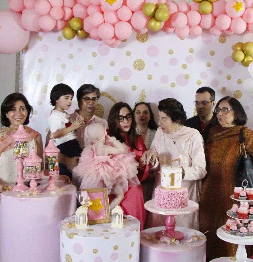 Juggan Kazim celebrates 1st birthday of her daughter Noor Bano