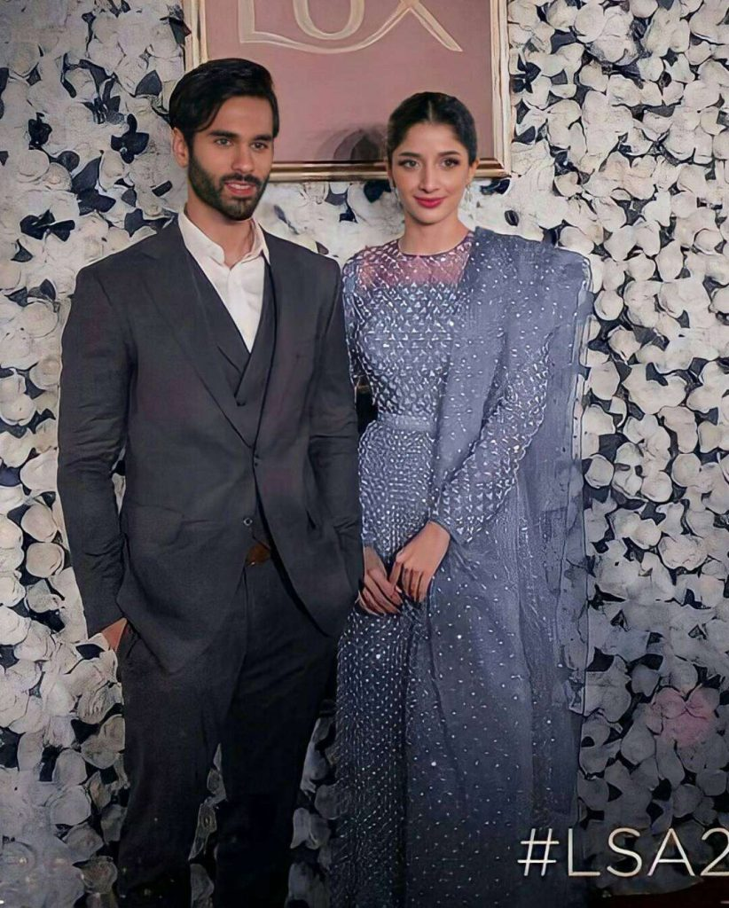 Mawra Hocane attends awards show with fiance Ameer