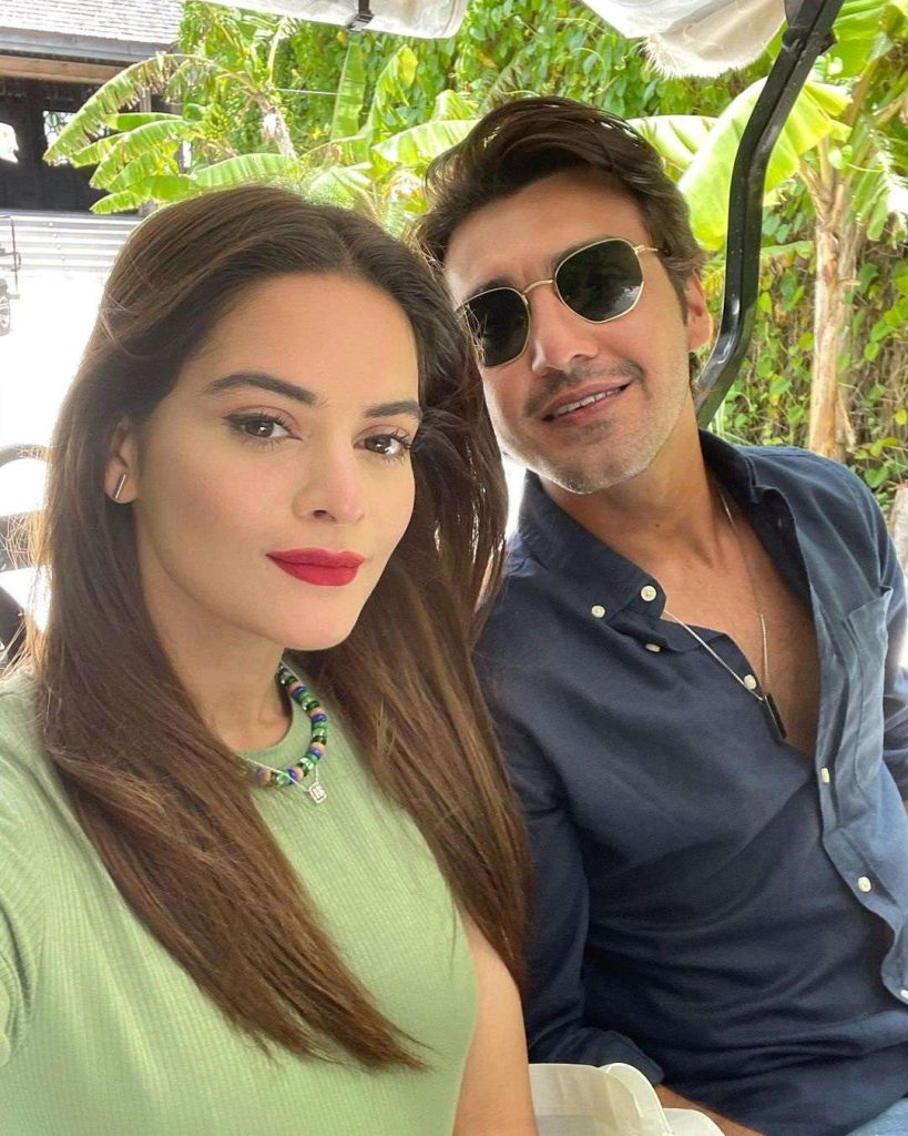Minal Khan and Ahsan Mohsin Ikram's love life