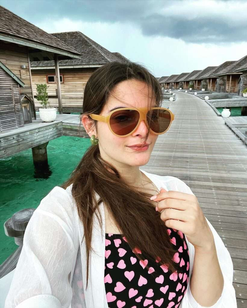 Minal Khan And Ahsan Mohsin Ikram Bewitching Pictures From Vacations
