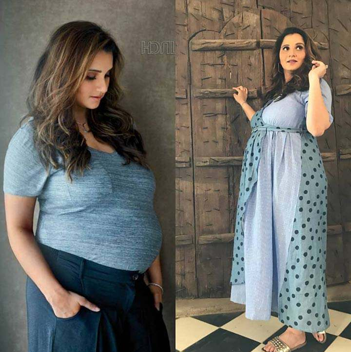 Sania Mirza Looks Elegantly Beautiful In Latest Pictures