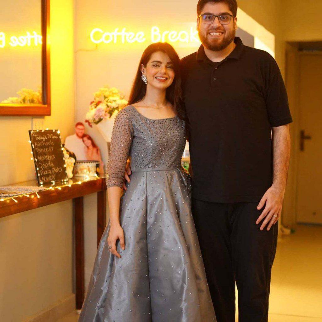 Srha Asghar Celebrates 28th Birthday With Her Husband Lala Umer