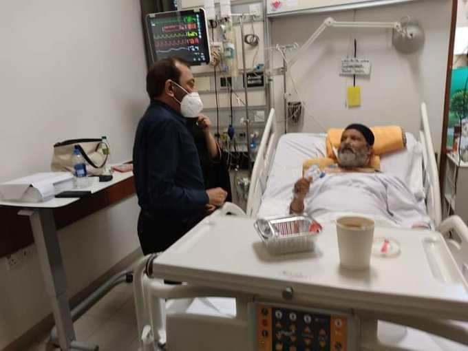 Umer Sharif's son expressed his father's last wish