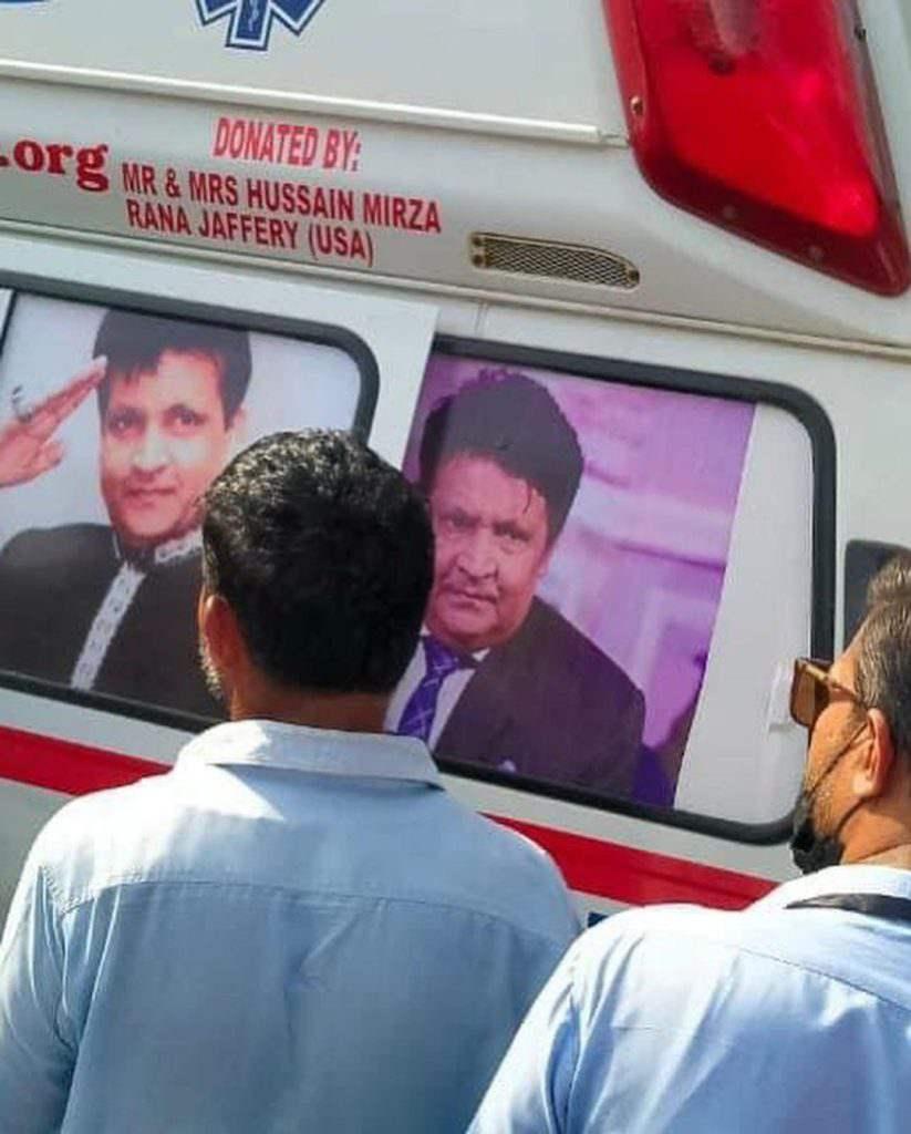 Waseem Badami shared Umer Sharif's last moments with fans